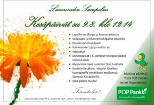 Lanneveden Sampolan Kesäpäivät 9.8.2020